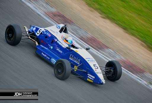 Matthew Parry's Premier-Powered Fluid Motorsport Van Diemen