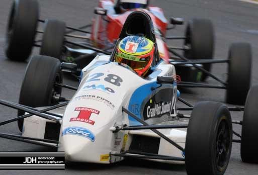 Tio Ellinas comes 3rd in Formula Ford Festival