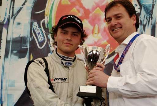 Gary Findlay wins trophy