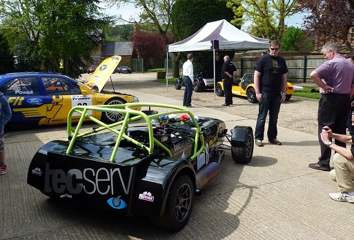 Grahame Tilley's Caterham CSR
