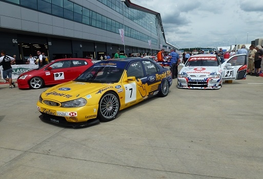 Mondeo BTCC at Silverstone Classic 2013