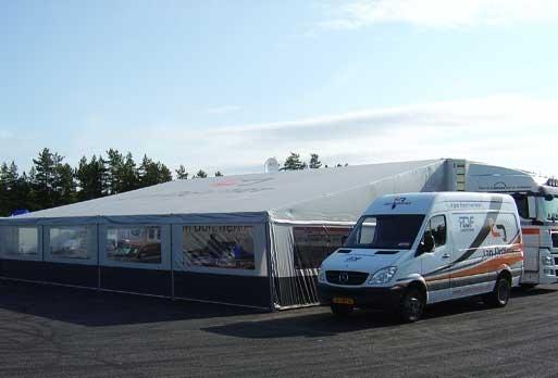 RDF Race Team setup