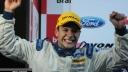Dennis Lind celebrates Formula Ford Festival win